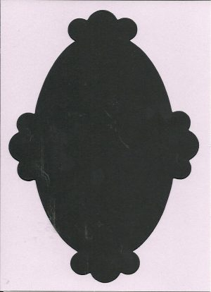 Oval Scallop Large