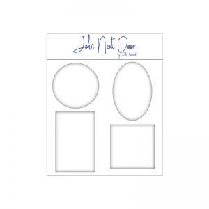 John Next Door Media Plates Set of 4