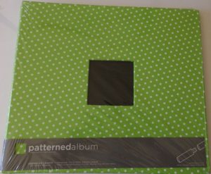 American Crafts Patterned 12 x 12 Scrapbook