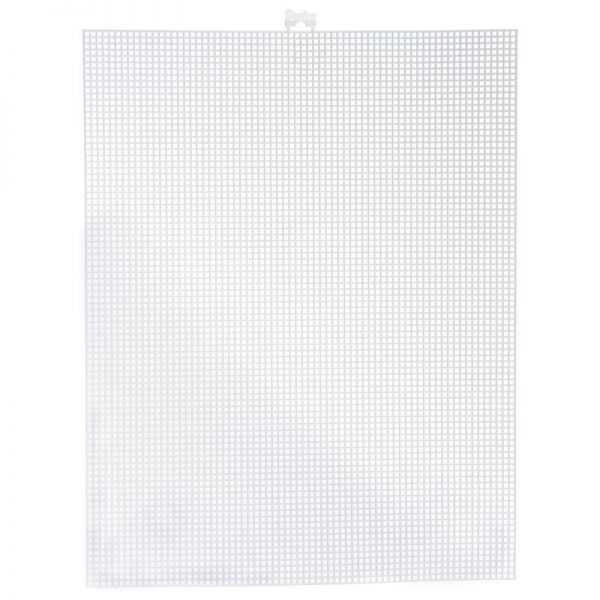 Darice Plastic Canvas Mesh 7 Count Clear