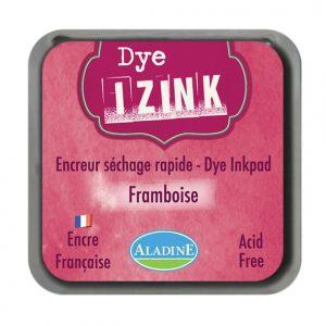 Izink Dye Based Stamp Pad - Framboisa - Raspberry