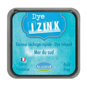 Izink Dye Based Stamp Pad - Mer Du Sud -South Sea