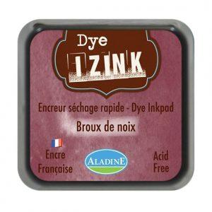 Izink Dye Based Stamp Pad - Broux  De Noix - Walnut