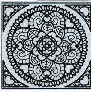 Mandala Sticker 8034