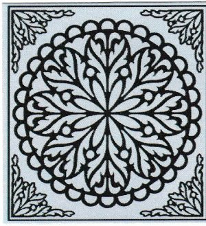 Mandala Sticker 8035