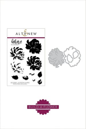 Altenew Build A Flower Chrysanthemum Stamp and Die Set