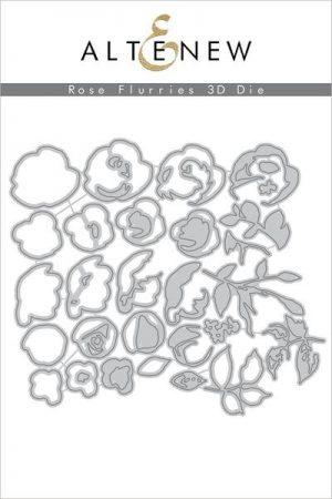 Altenew Rose Flurries 3d Die Set