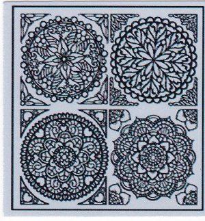Mandala Sticker 8055