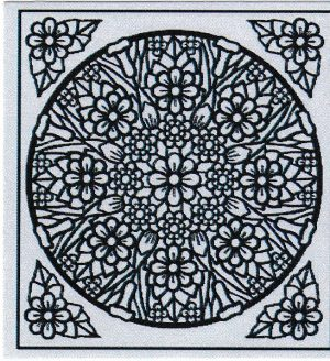 Mandala Sticker 8059