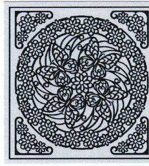 Mandala Sticker 8060