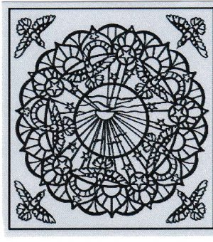 Mandala Sticker 8062