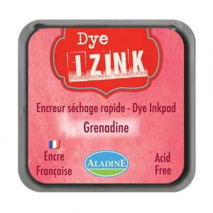 Izink Dye Based Stamp Pad - Grenadine