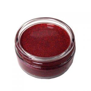Cosmic Shimmer Glitter Kiss - Fire Red