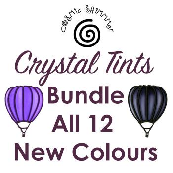 Cosmic Shimer Crystal Tints 12 Colour Set