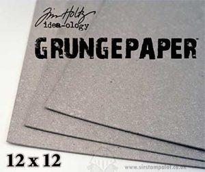Tim Holtz 12x12 Grunge Paper
