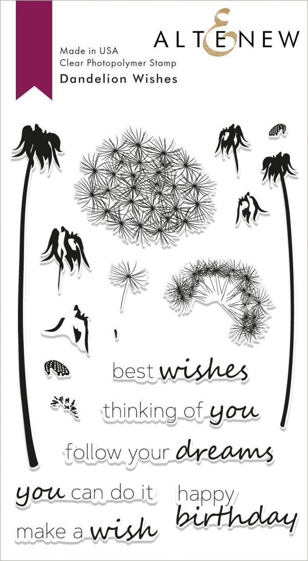 Altenew Dandelion Wishes Stamp Set