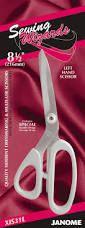 Janome Stainless Dressmaking & Multy Left Hand Scissors