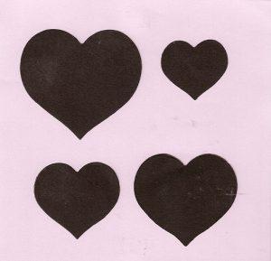 Layering Hearts