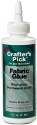 Crafters Pick Fabric Glue