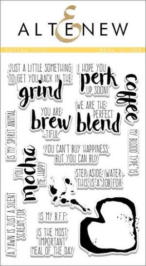 Altenew  Coffe Talk Stamp Set