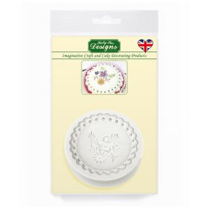 Katy Sue Victorian Garden 3 Silicone  Mould