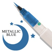 Zig Wink of Luna Metalic Brush Pen Blue