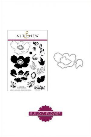 Altenew Build A Flower Anemone Stamp and Die Set