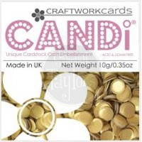 Craftworkcards Candi Colourpops Goldbar