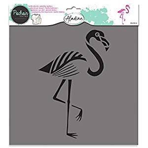 Aladine Textile Stencil Flamingo