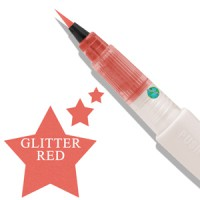 Zig  Wink of Stella Glitter Brush Red