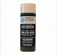 Martha Stewart Chalkboard Paint Black