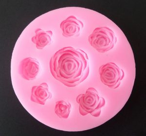 9 Roses Silicone Mould