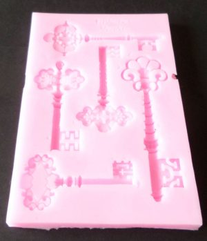 Antique Keys Silicone  Mould